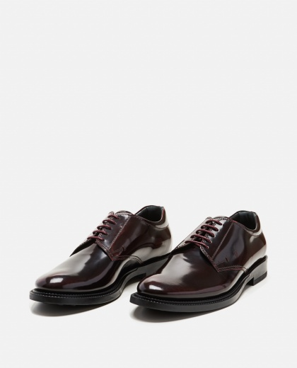 Leather lace-up  Men Tod's 000268580039607 2
