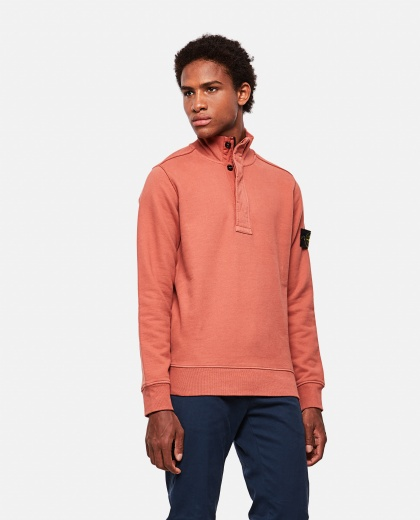 Stone Island sweatshirt with mock neck
