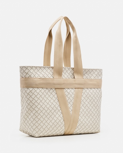 Woven rubber Tote bag  Men Bottega Veneta 000291510042933 2