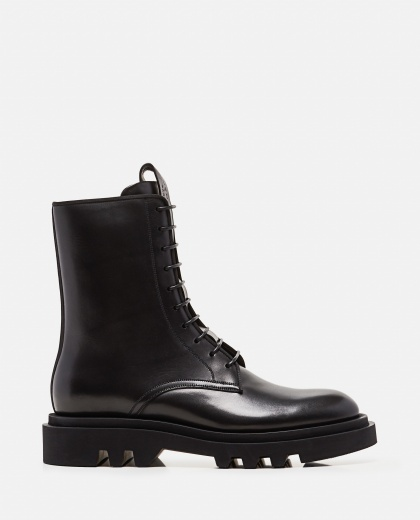 Calf leather combat boots Men Givenchy 000301770044319 1