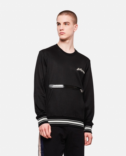 Sweatshirt with zip Men Alexander McQueen 000214910031904 1