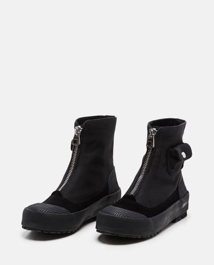 Duck  gabardine and suede  boots  Women J.W. Anderson 000302880044477 2