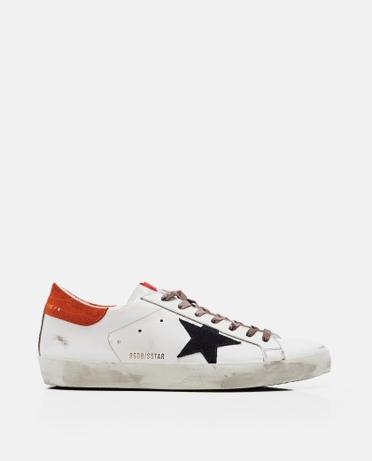 'Superstar' sneakers in leather and suede Men Golden Goose 000269270039693 1