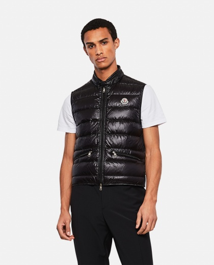 Gui quilted vest Men Moncler 000232590034348 1