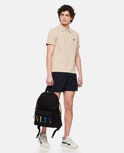 Polo shirt with embroidered logo Uomo AMI Paris 000291290042892 2