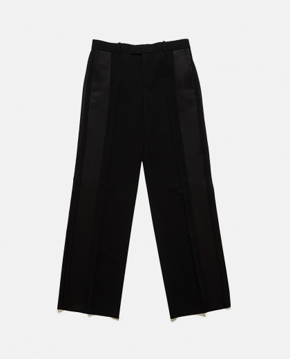 Wide leg pants with side band Women Bottega Veneta 000188490028006 2