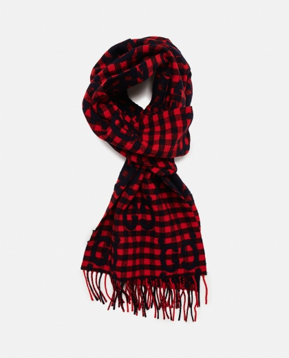 GG jacquard wool scarf Men Gucci 000293370043205 2