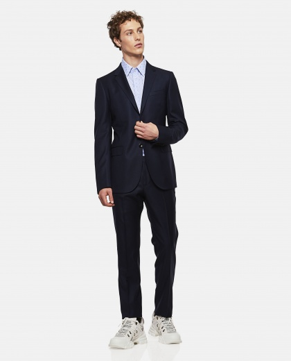 Stretch Wool Monaco Suit