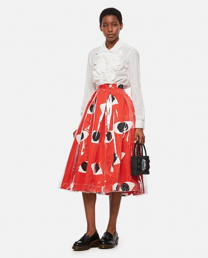 Circle skirt with print Women Comme des Garcons 000316300046342 2