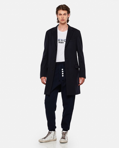 Sports trousers with drawstring Men Thom Browne 000253550037452 2