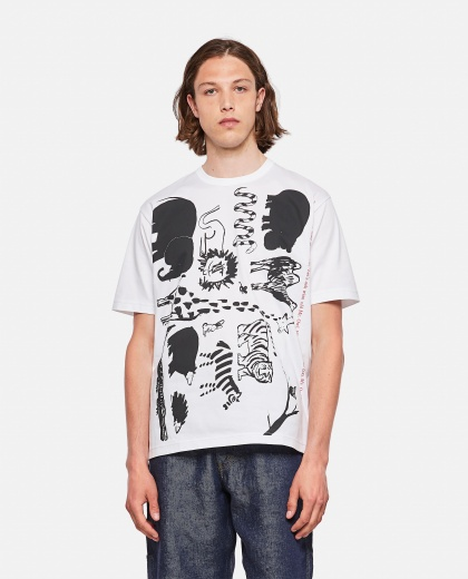 T-shirt with print Men Junya Watanabe 000300890044207 1