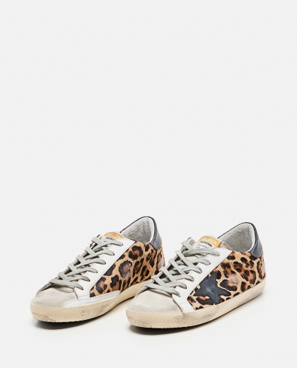 Superstar classic Golden Goose sneakers in spotted pony skin Donna Golden Goose 000286810042304 2